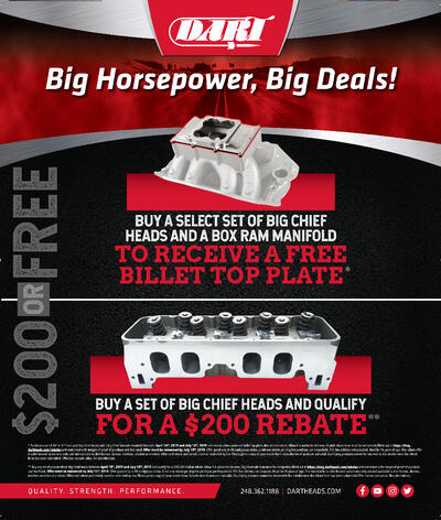 Don't Miss Your Chance To Save on Big Chief Cylinder Heads!