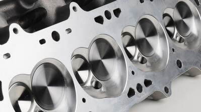Under the Valve Covers of Dart's New LS7–Style PRO1 Cylinder Heads