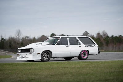 Lea Ochs' Dart-Powered Wagon is a Force to Be Reckoned With