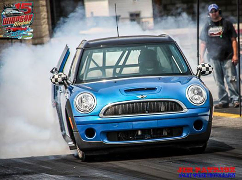 Ken Hebert Jr. Built a Big-Block Mini Cooper and it's Awesome!