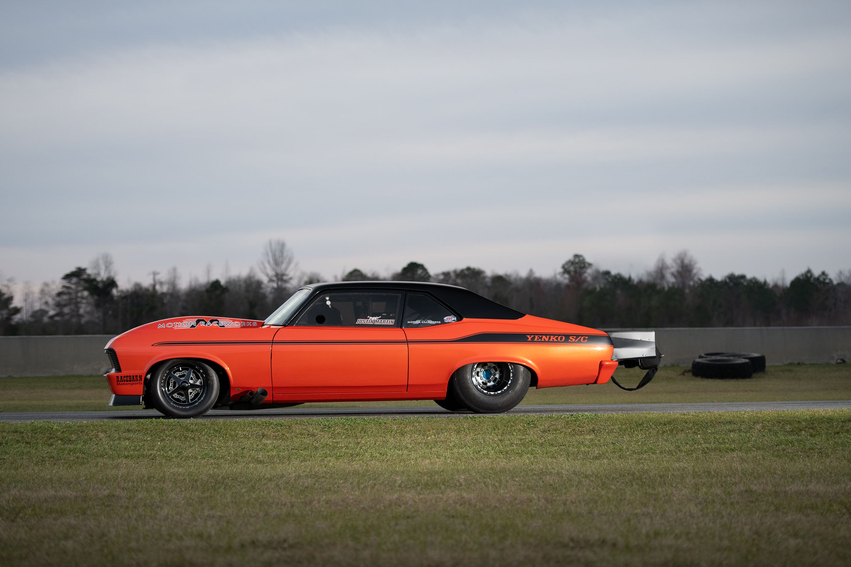Justin Martin Is On The Hunt For A Limited Drag Radial Title